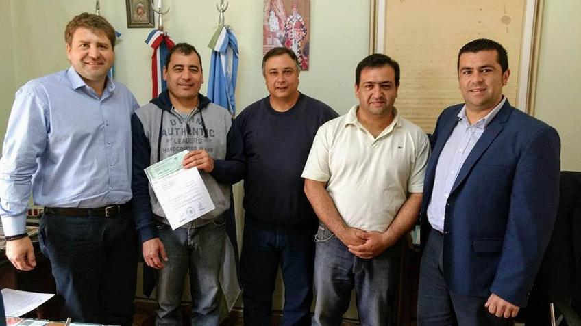 Bomberos Voluntarios reciben un subsidio
